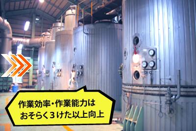 現代の製糖工場の圧搾機
