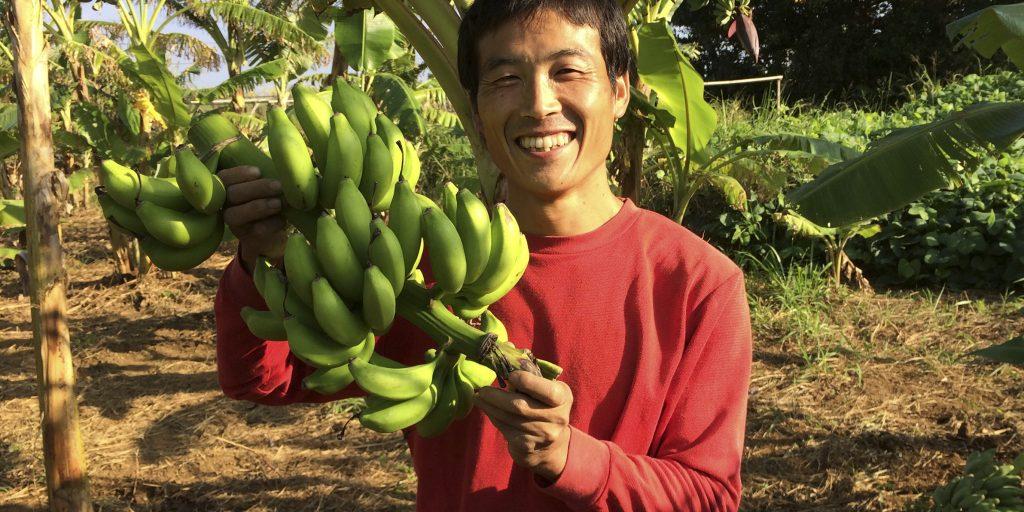 バナナと代表松本